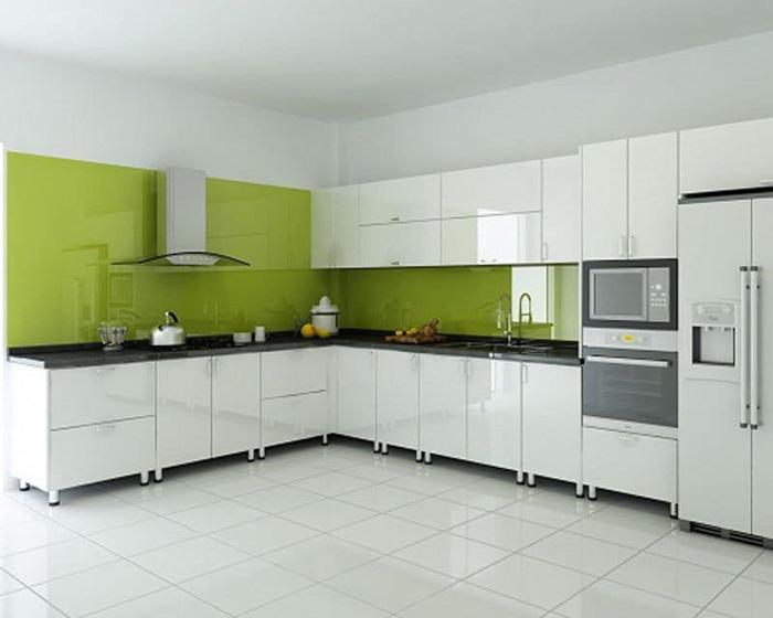tủ bếp đơn giản mà đẹp - mẫu 07