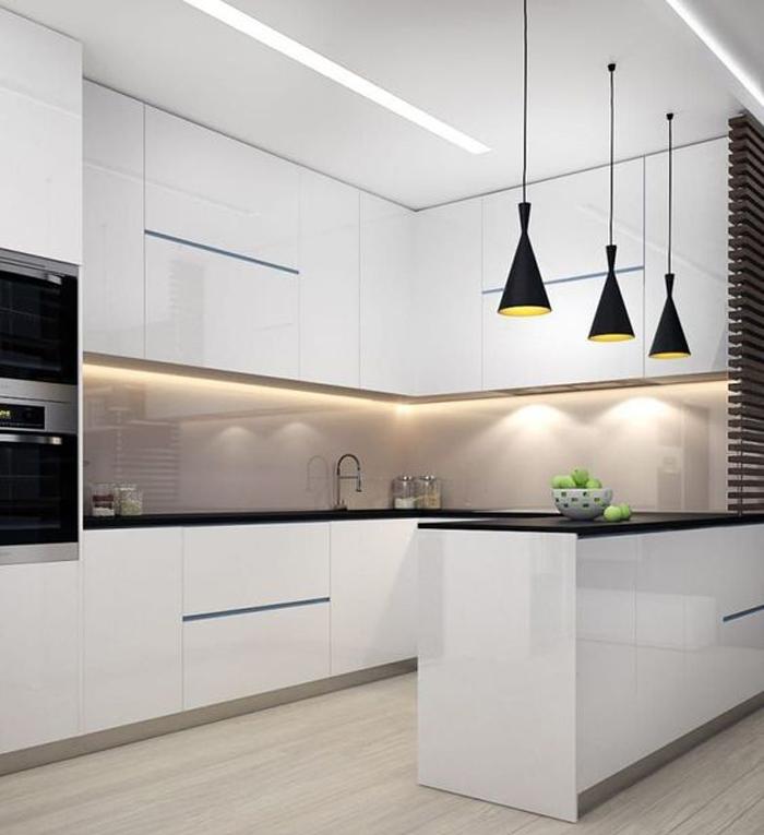 tủ bếp đơn giản mà đẹp - mẫu 08