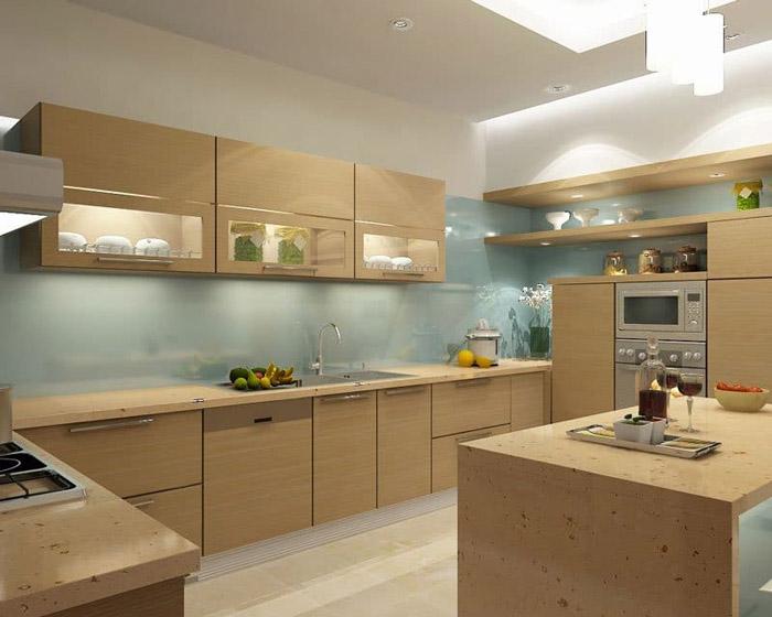 tủ bếp đơn giản mà đẹp - mẫu 10