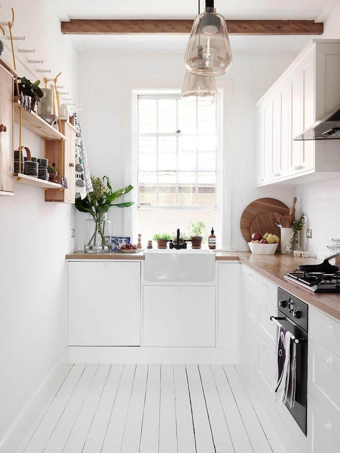 tủ bếp đẹp cho nhà nhỏ - mẫu 04