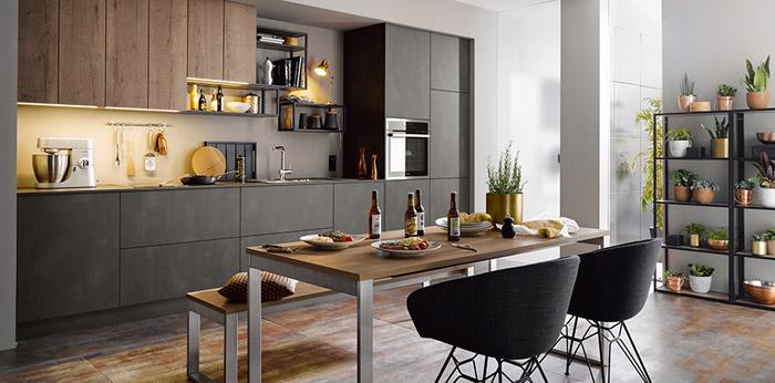 Những Mẫu Tủ Bếp Đơn Giản Mà Đẹp - Hình 12
