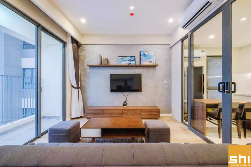 Thi công nội thất căn hộ cao cấp Mastery Thảo Điền - Hình 15