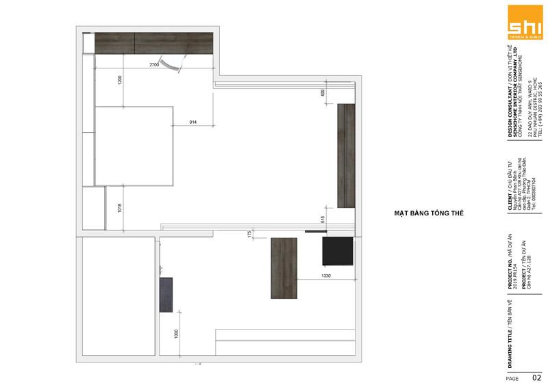 Thi công nội thất căn hộ cao cấp Mastery Thảo Điền - Hình 04