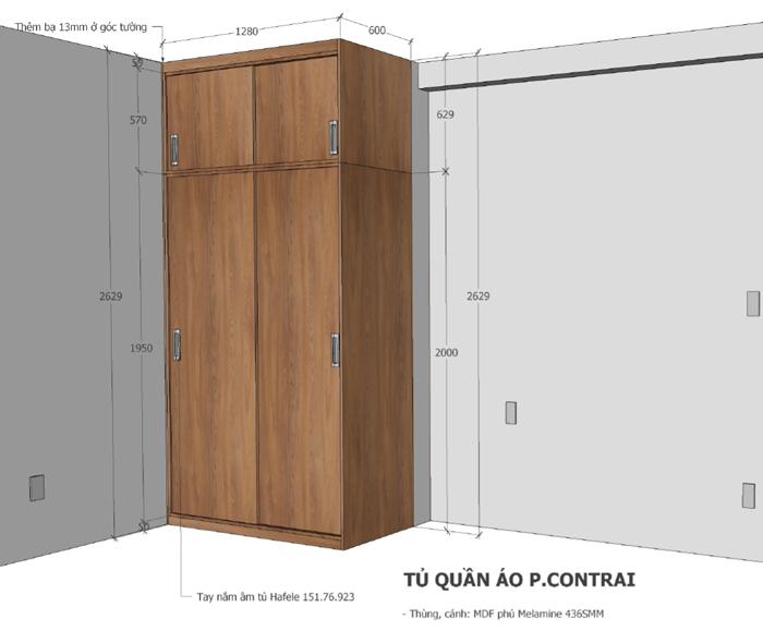 Thi công nội thất căn hộ Orchard Garden - Hình 12