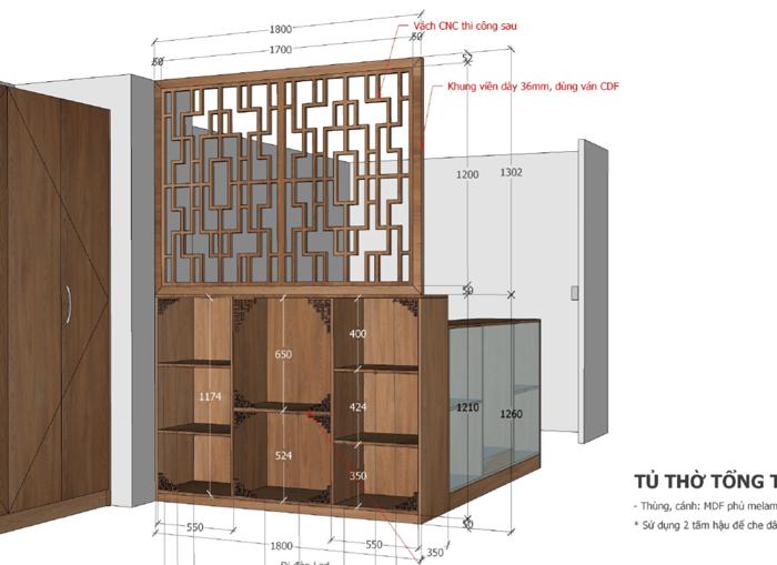 Thi công nội thất căn hộ Orchard Garden - Hình 14