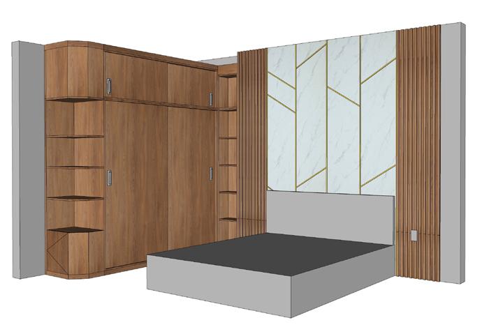 Thi công nội thất căn hộ Orchard Garden - Hình 09