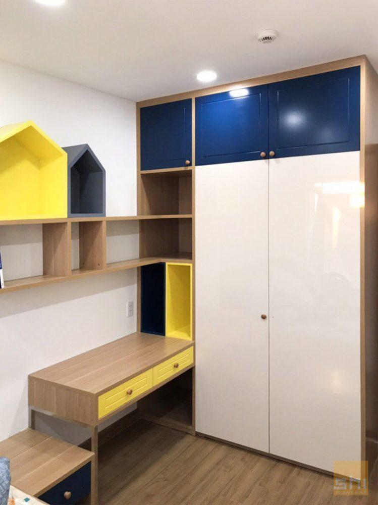 Thi công nội thất căn hộ chung cư Dragon Hill 2 - Hình 09