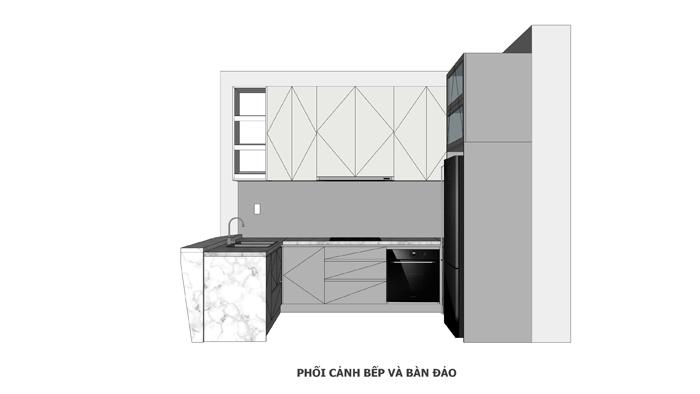 Thi công nội thất căn hộ chung cư Diamond Lotus - Hình 10
