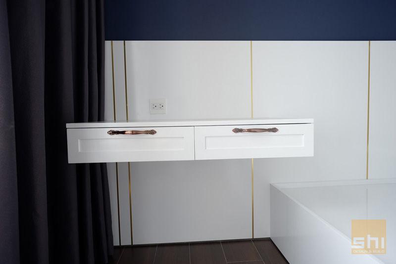 Hình ảnh hoàn thiện thiết kế nội thất bàn trang điểm phòng ngủ nhỏ