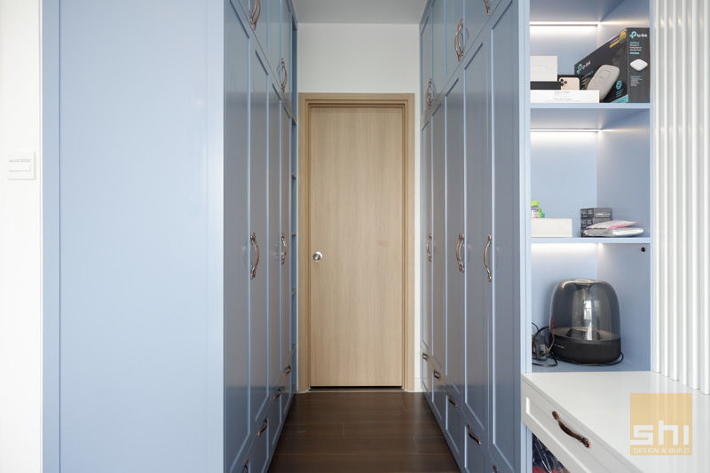 Hình ảnh hoàn thiện thiết kế tủ quần áo phòng ngủ Master