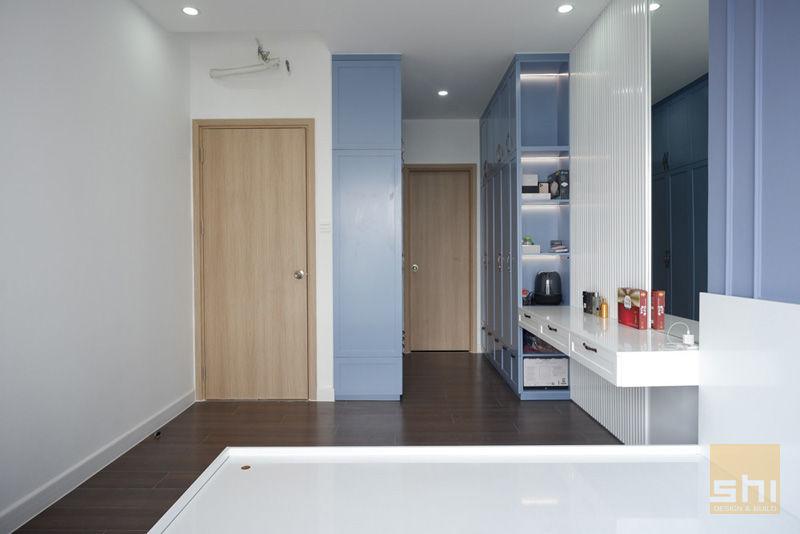 Hình ảnh hoàn thiện thiết kế nội thất tổng thể phòng ngủ Master
