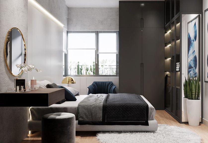 Thi công nội thất căn hộ chung cư Diamond Lotus - Hình 04