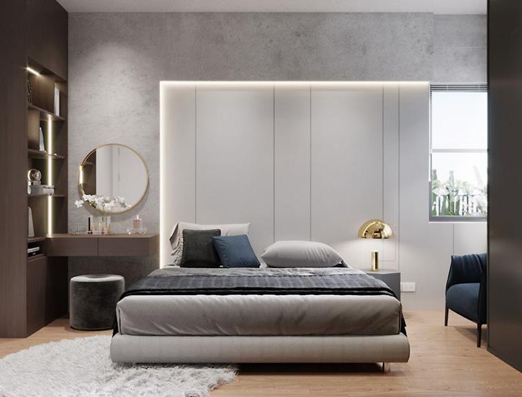 Thi công nội thất căn hộ chung cư Diamond Lotus - Hình 05