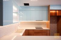 tủ bếp đẹp acrylic - hình 07
