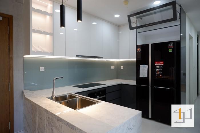 tủ bếp đẹp acrylic tb50 - hình 01
