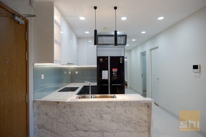 tủ bếp đẹp acrylic tb50 - hình 03