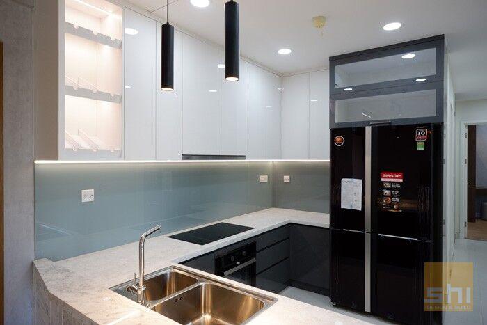 tủ bếp đẹp acrylic tb50 - hình 02