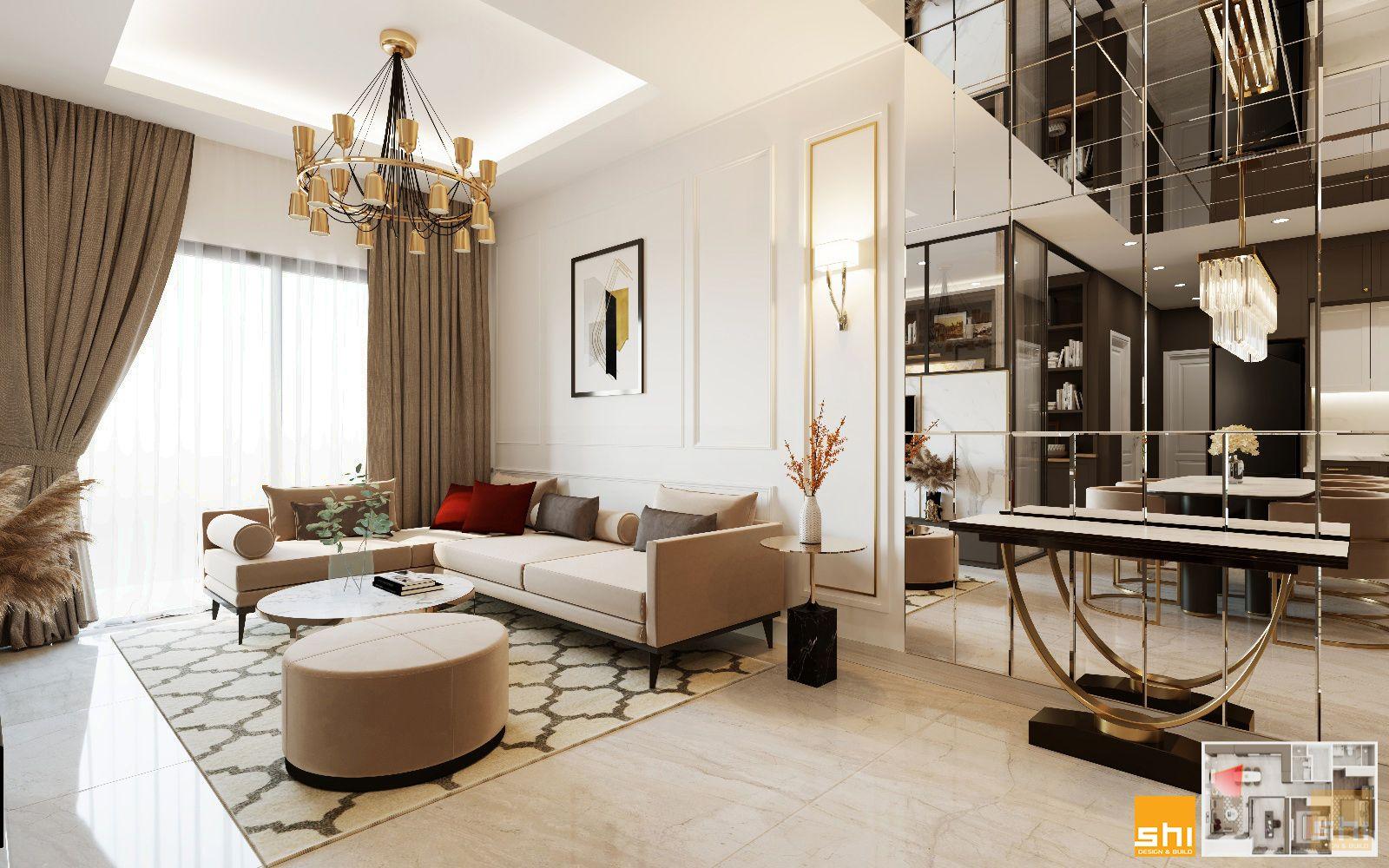 thiết kế nội thất căn hộ chung cư đẹp - 03