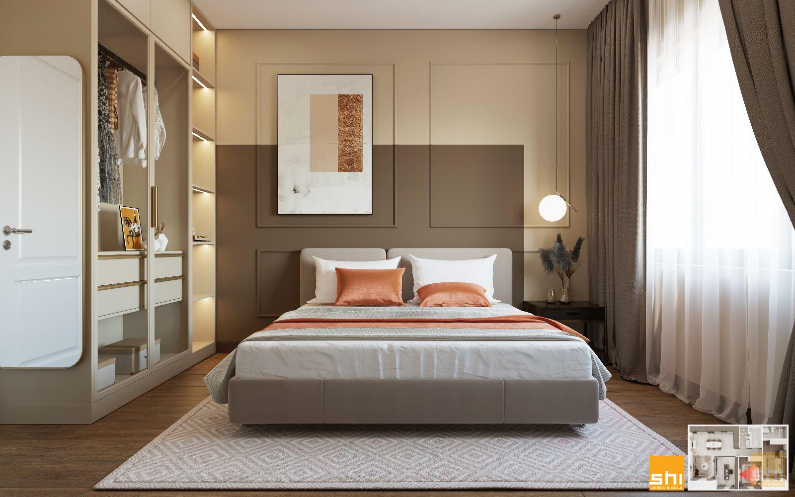 thiết kế nội thất 3 phòng ngủ