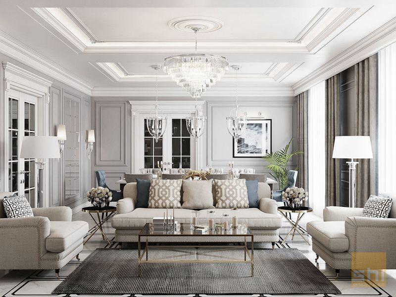 Phong cách nội thất cổ điển (Classic Style)