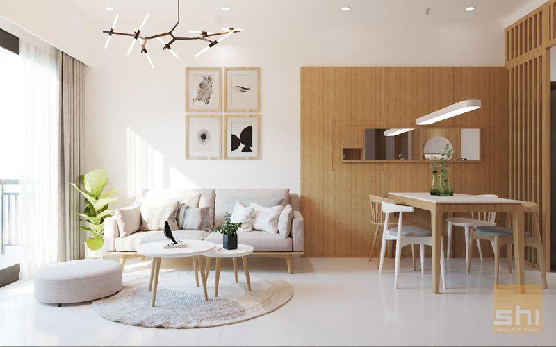 thiết kế nội thất căn hộ 70m2 - 01