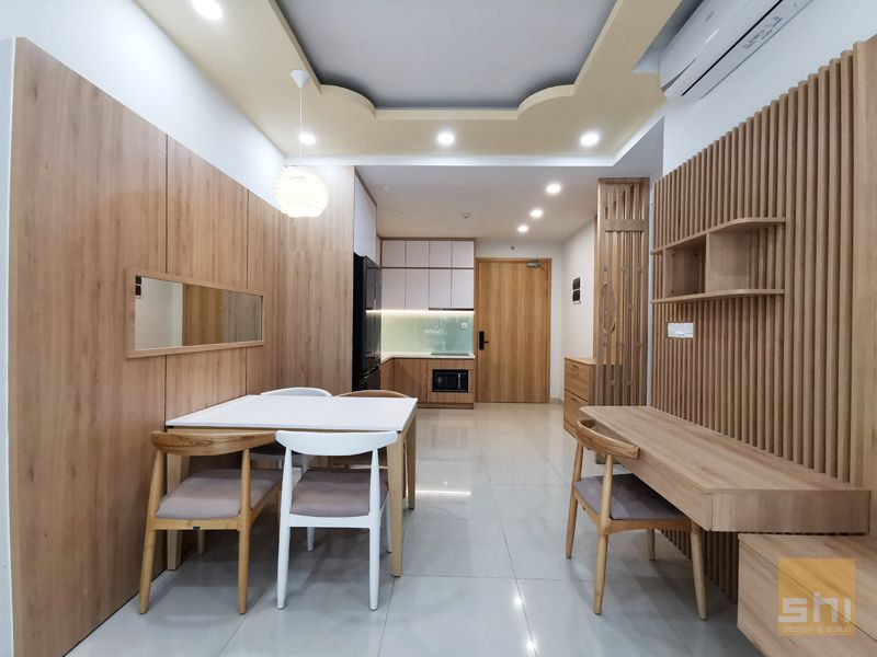 thiết kế nội thất căn hộ 70m2 - 04