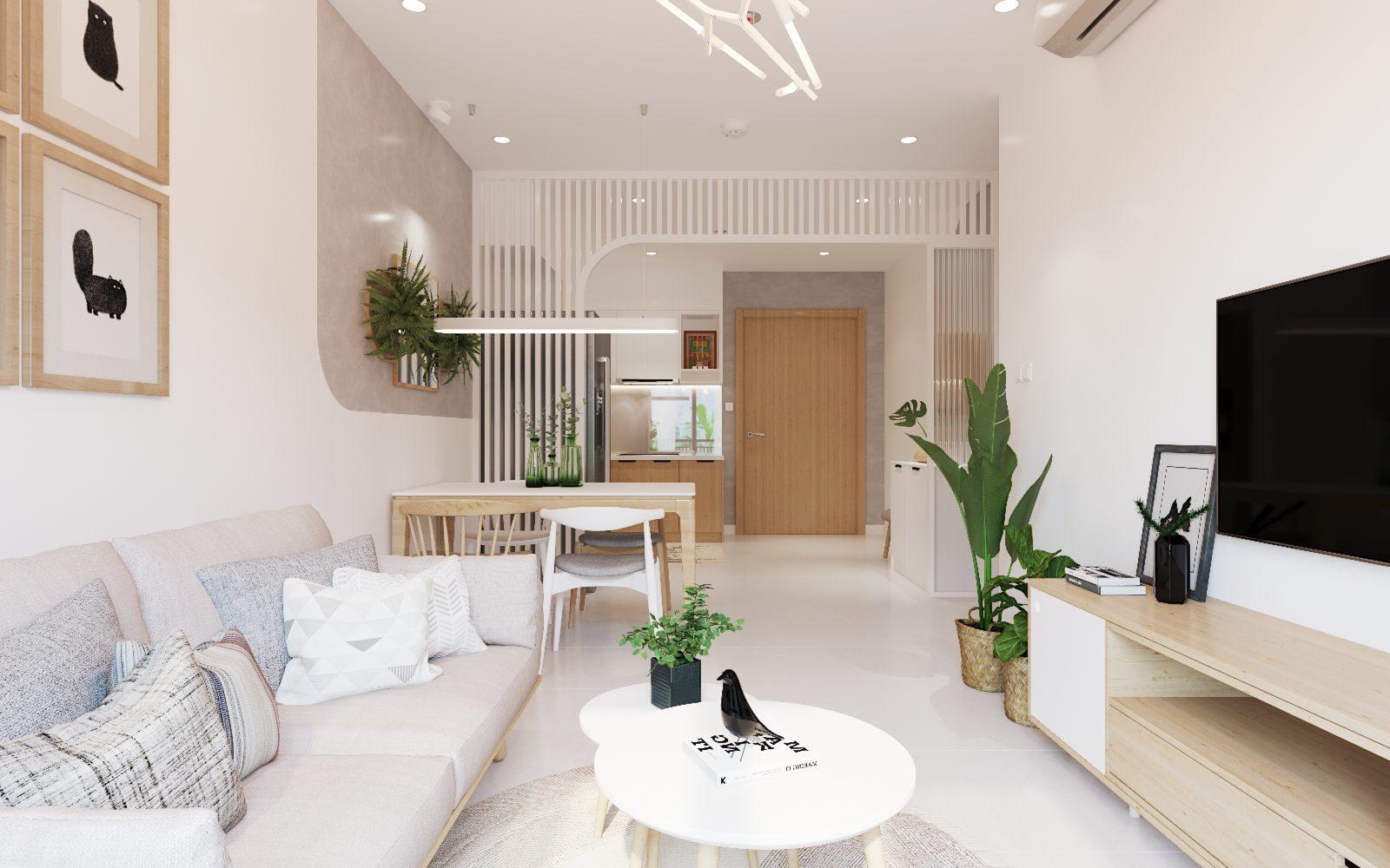 thiết kế nội thất căn hộ chung cư đẹp - 02
