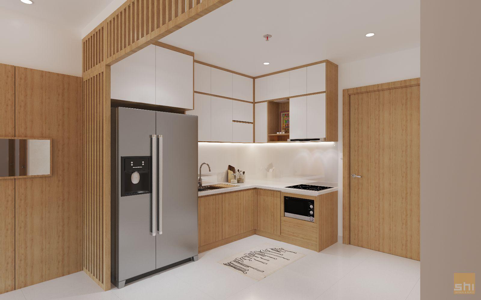 thiết kế nội thất căn hộ 70m2 - 03