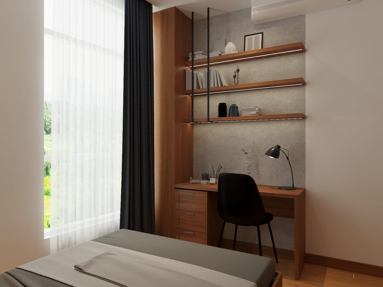 Thiết kế nội thất căn hộ 3 phòng ngủ - 06