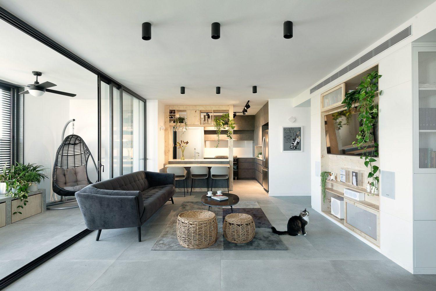 thiết kế nội thất căn hộ chung cư đẹp - 01