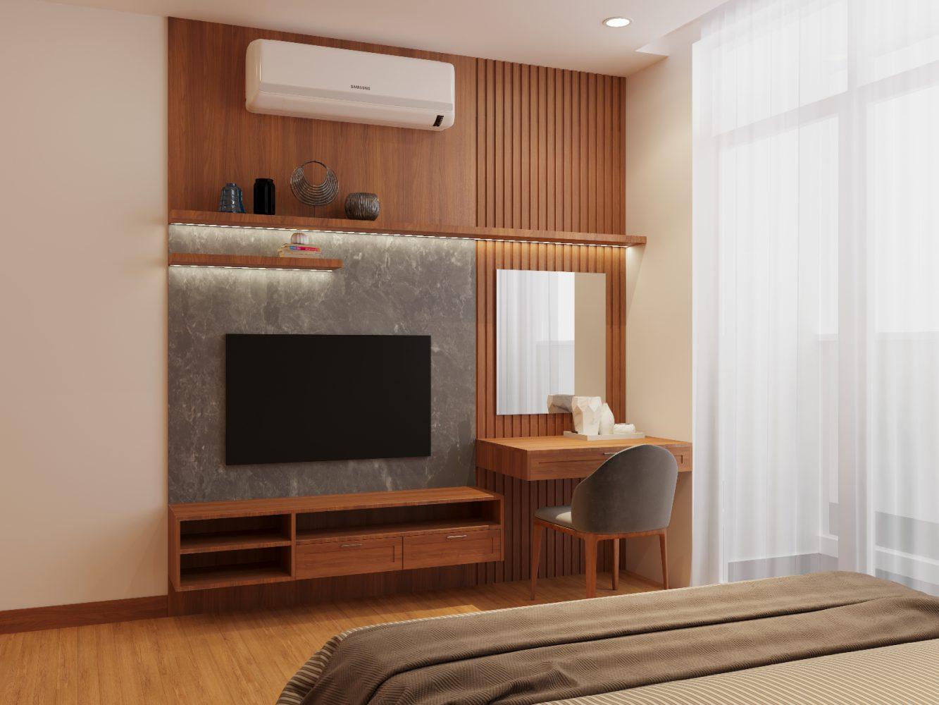 Thiết kế nội thất căn hộ 3 phòng ngủ - 04