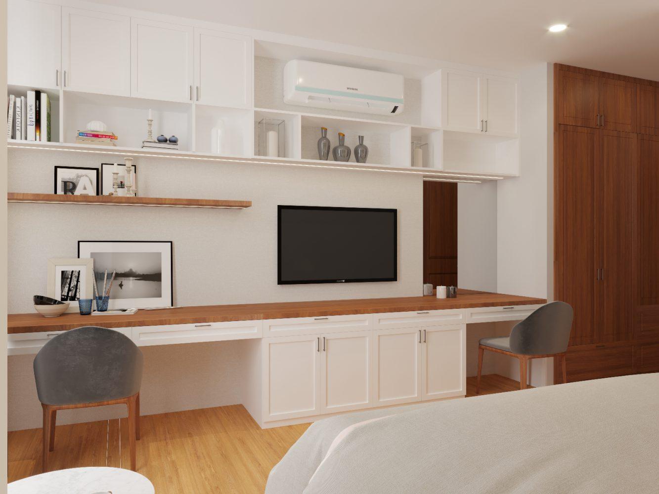 Thiết kế nội thất căn hộ 3 phòng ngủ - 09