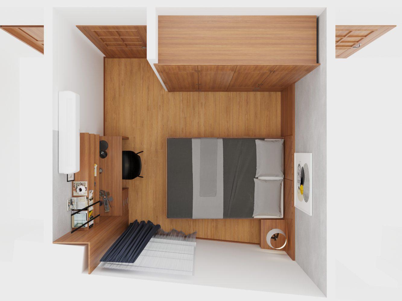 Thiết kế nội thất căn hộ 3 phòng ngủ - 05