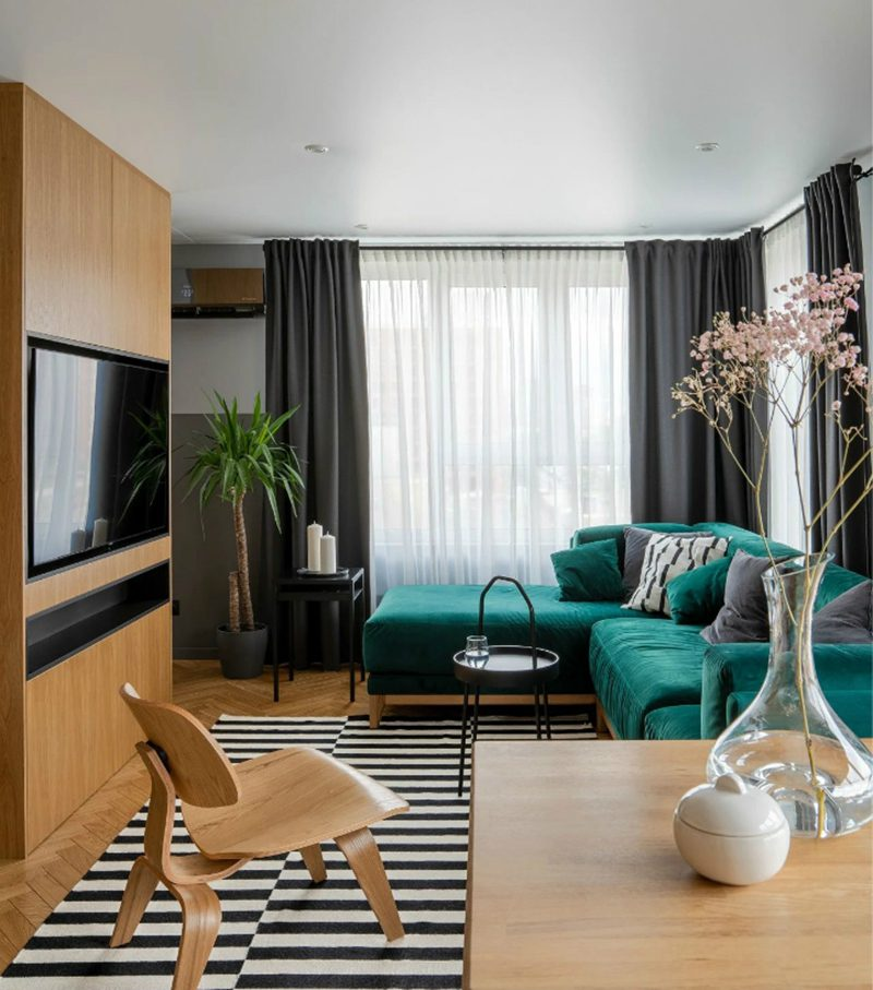 thiết kế nội thất căn hộ chung cư 68m2 - 03