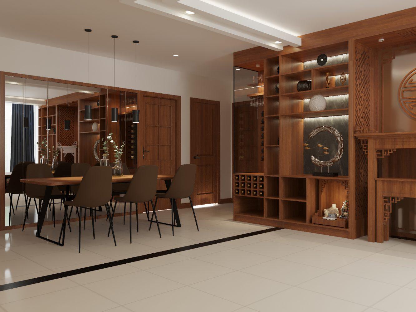 Thiết kế nội thất căn hộ 3 phòng ngủ - 02