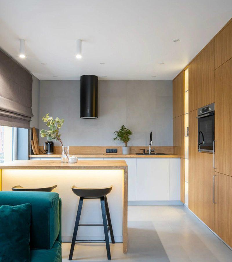 thiết kế nội thất căn hộ chung cư 68m2 - 02