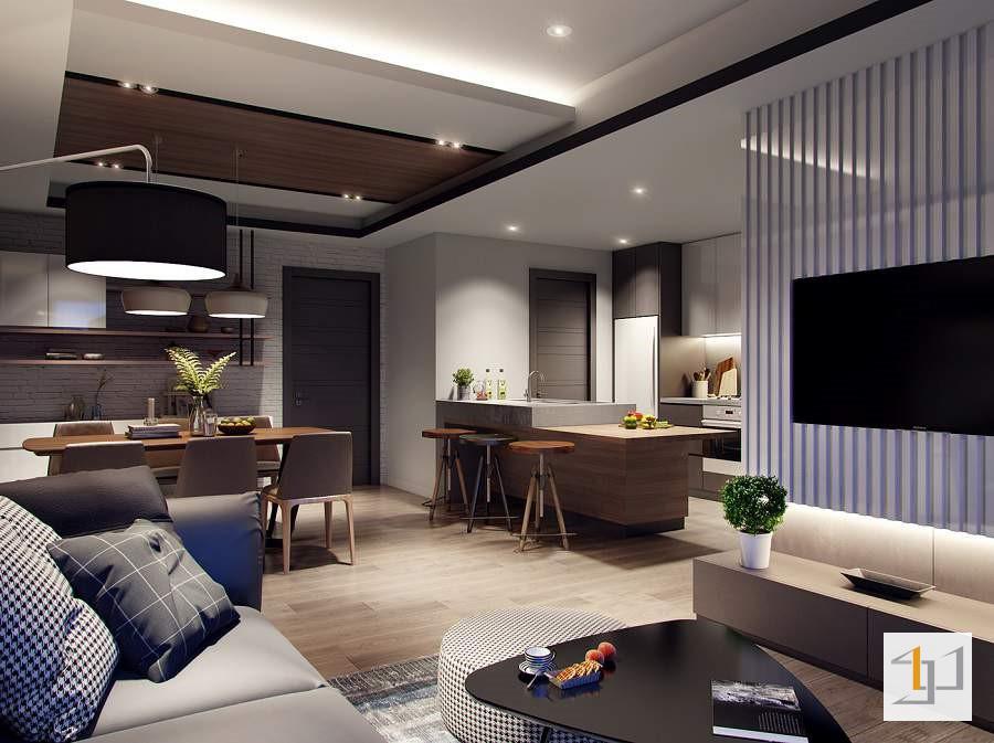 thiết kế nội thất chung cư 60m2 - 01