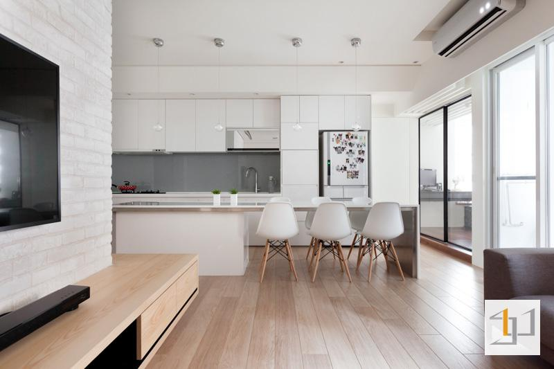 thiết kế nội thất chung cư đơn giản - 01