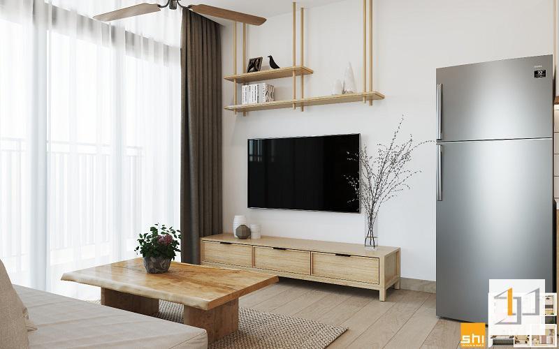 thiết kế nội thất chung cư đơn giản - 03