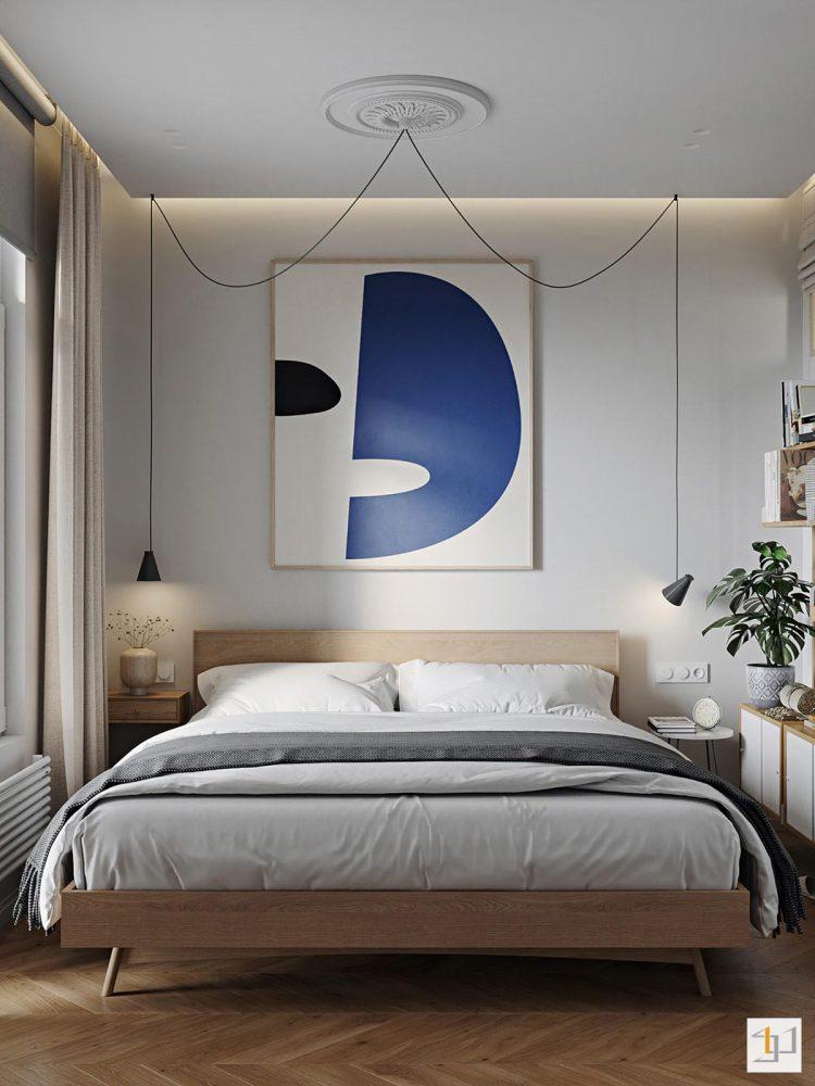 thiết kế nội thất chung cư 55m2 - 11