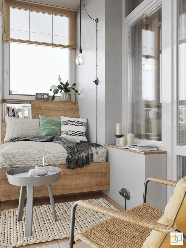 thiết kế nội thất chung cư 55m2 - 12