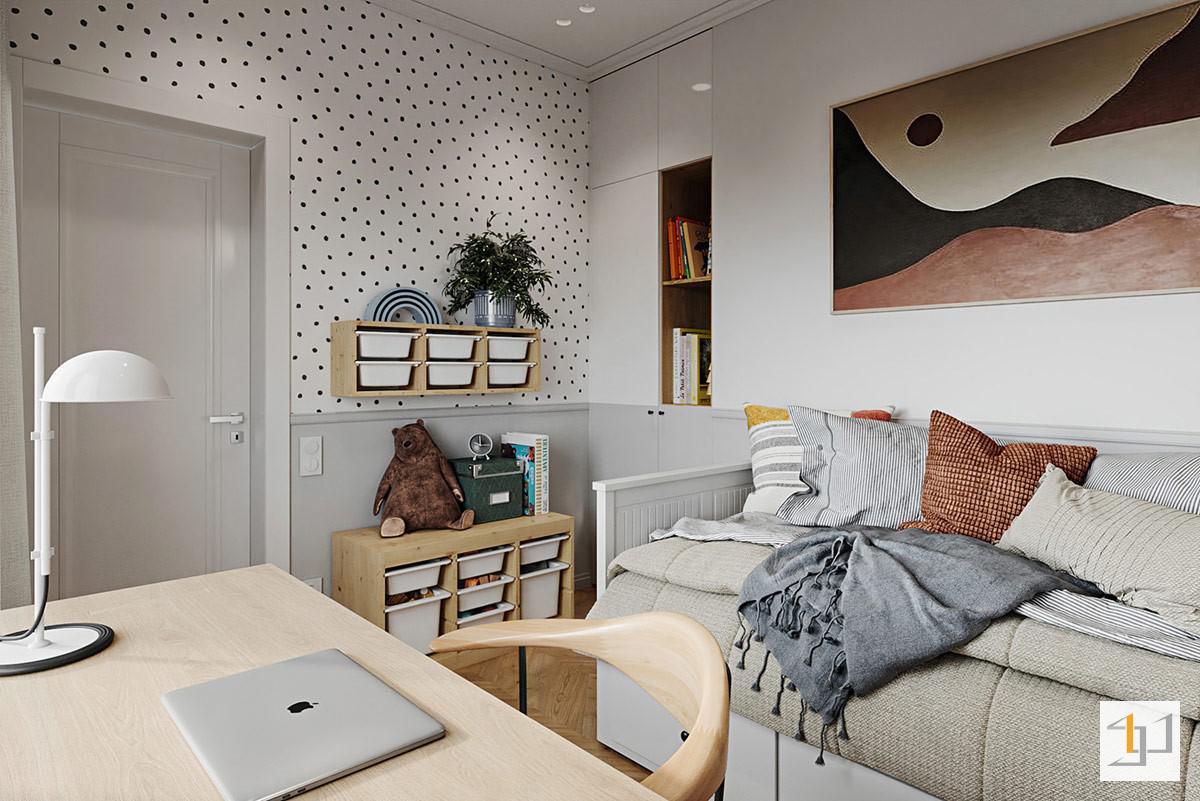 thiết kế nội thất chung cư 55m2 - 13