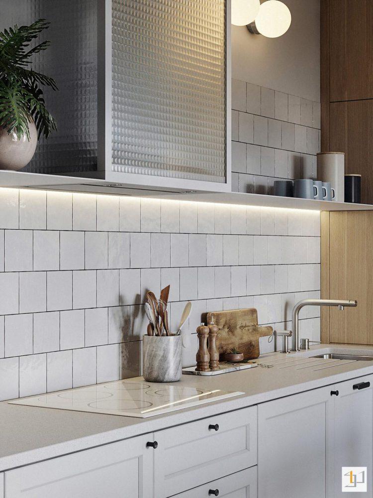 thiết kế nội thất chung cư 55m2 - 09