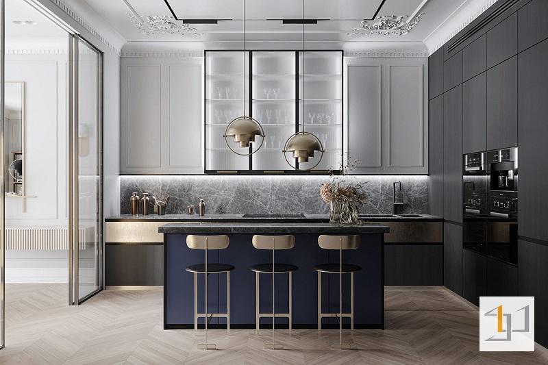 Thiết kế nội thất chung cư cổ điển - 06