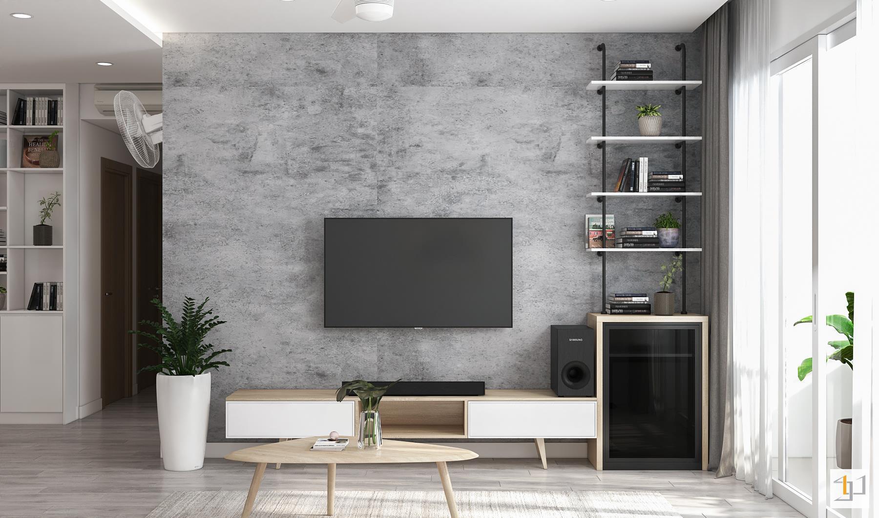 thiết kế nội thất chung cư đơn giản - 08