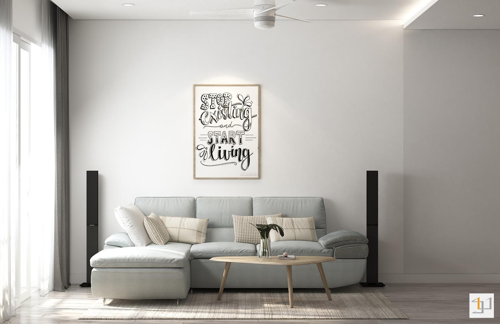 thiết kế nội thất chung cư đơn giản - 07