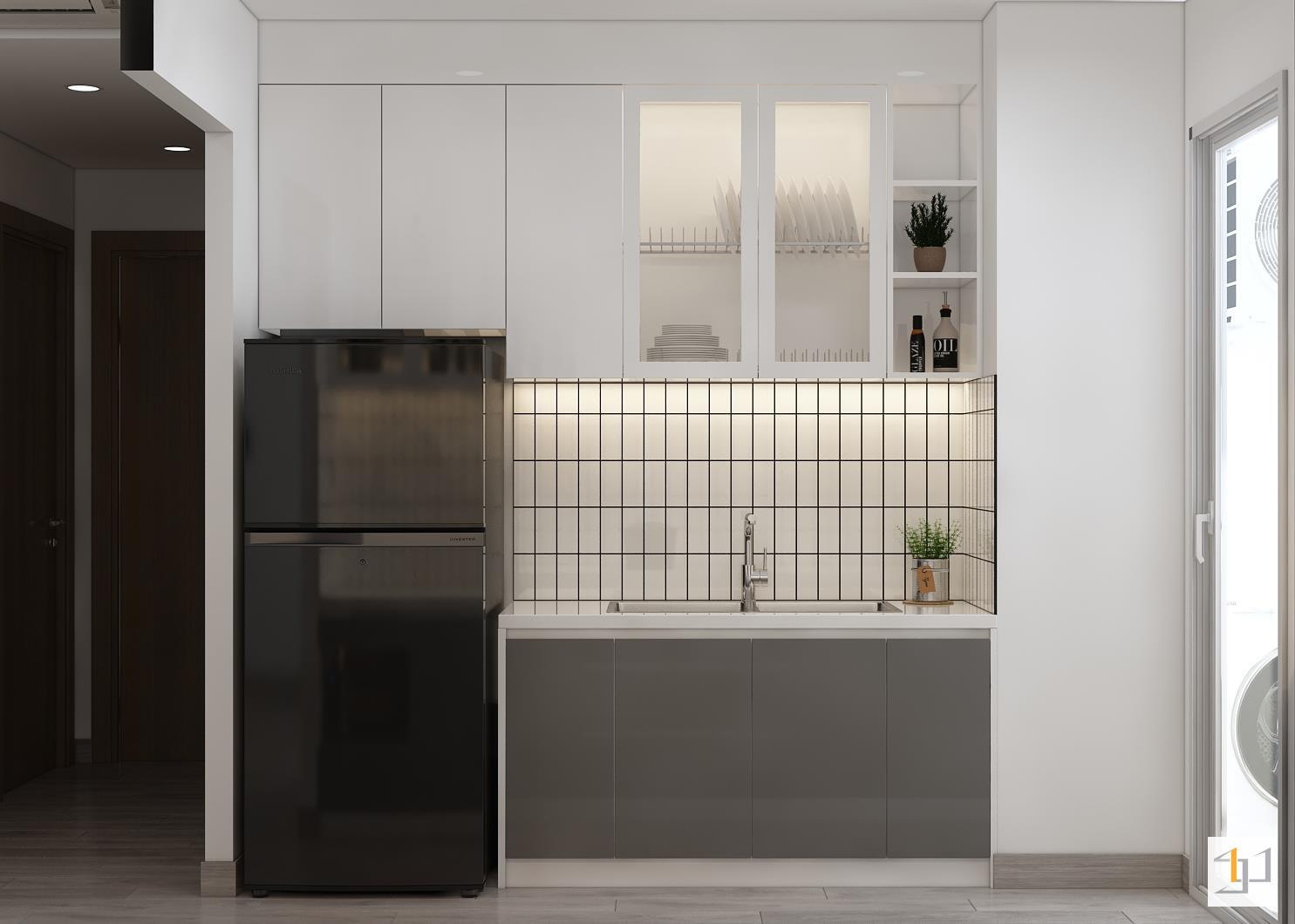 thiết kế nội thất chung cư đơn giản - 10