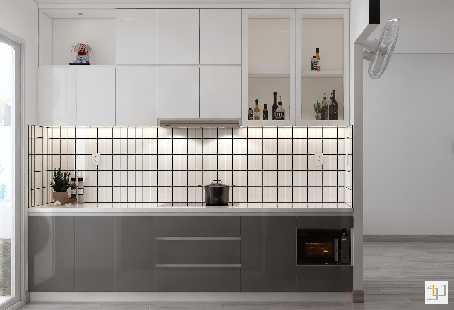 thiết kế nội thất chung cư đơn giản - 09