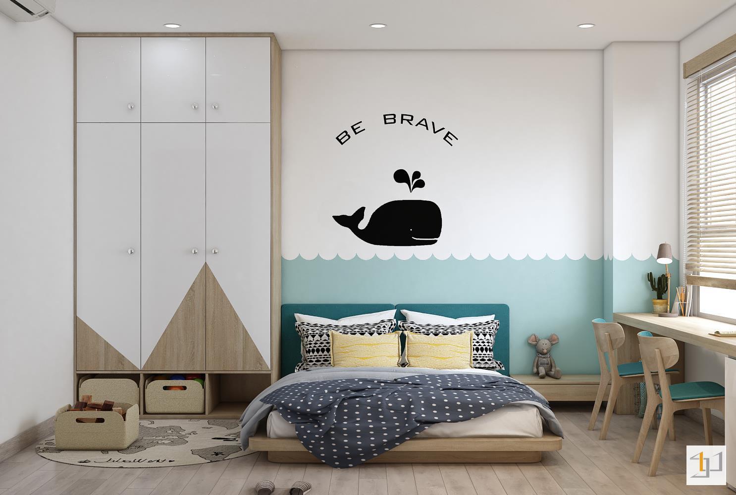 thiết kế nội thất chung cư đơn giản - 15