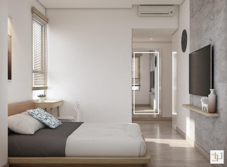 thiết kế nội thất chung cư đơn giản - 14